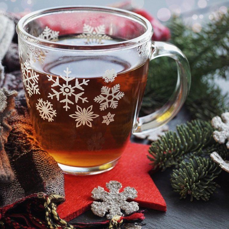 Top-Weihnachtsgetränk: Tee